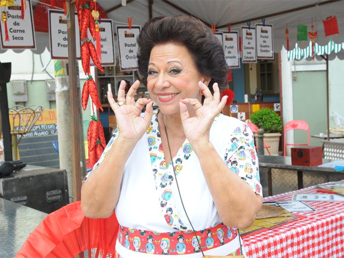 Manoelita Lustosa em <i>Dona Xepa</i> (Foto: Munir Chatack/ Record)